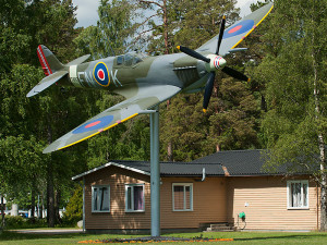 Spitfire at Bodo Norway