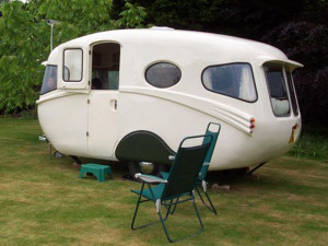 Willerby caravan after restoration