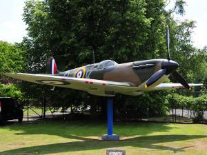 Spitfire at Biggin Hill