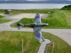 Spitfire in Norway